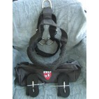 New Padded Nylon Dog Harness for EZ Entry Dog Cart-NIB