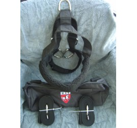 New Padded Nylon Dog Harness for EZ Entry Dog Cart-NIB