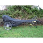 New Easy Entry Cart Cover For Mini Horse Cart