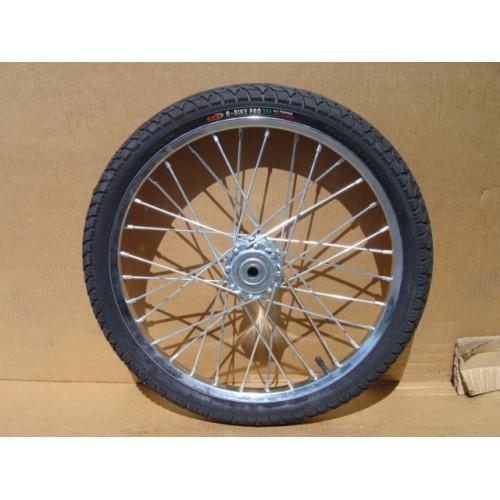 "One Mini or Small Pony Cart Heavy Duty Bike Wheel 20""x2.125"", 3/4""Axle, 3 3/8""Hub"