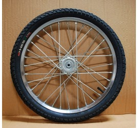 "One Mini or Small Pony Cart Heavy Duty Bike Wheel 20""x2.125"", 3/8""Axle, 3 3/8""Hub"