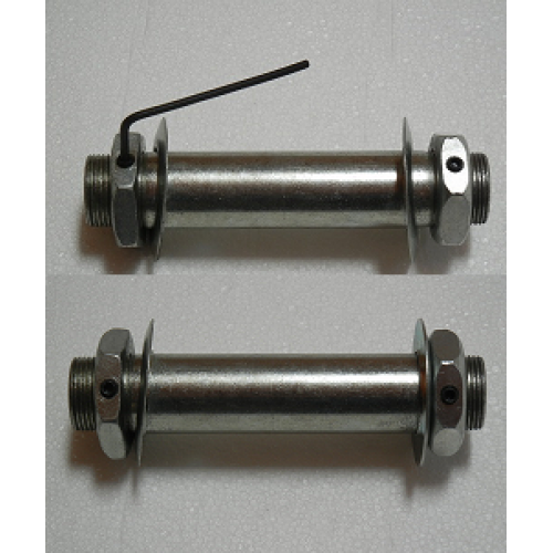 """Pair of Sleeves For Solid Rubber Tires or Motorcycle Tires-3/4"""" Axle, 5"""" Hub"""