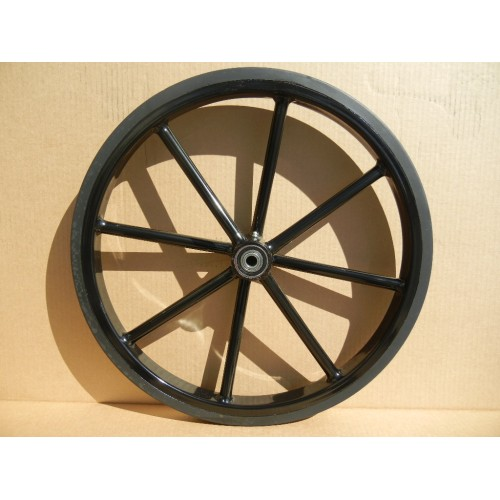 "Pair Horse Carriage Solid Rubber Tires for Mini or Small Pony Cart-21"" Inches"