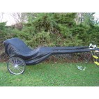 New Easy Entry Horse Cart Cover For Full Horse Cart