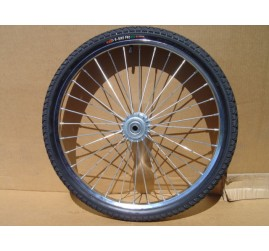 "One Horse Cart Heavy Duty Bike Wheel 24""x2.125"", 5/8""Axle, 4""Hub"