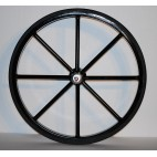"Pair Horse Carriage Solid Rubber Tires for Horse Cart - 30"" Inches"