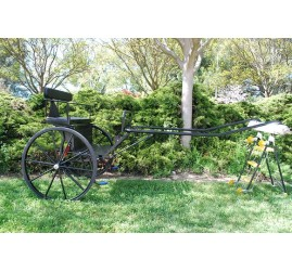 """Brand New Easy Entry Large Horse / Draft Horse Sprint Cart – Comes with 74""""/84"""" Curved Shafts (Pickup Only)"""