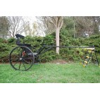 "Brand New Easy Entry Large Horse / Draft Horse Sprint Cart – Comes with 74""/84"" Straight Shafts"