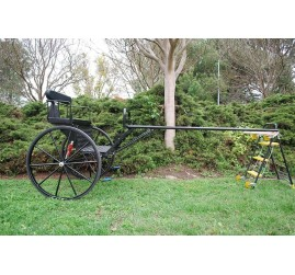 "Brand New Easy Entry Large Horse / Draft Horse Sprint Cart – Comes with 74""/84"" Straight Shafts (Pickup Only)"